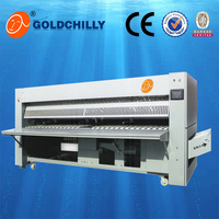 High quality used clothes flatwork ironer price/ironing machine