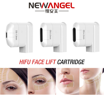 High intensity hifu cartridge for face lifting body slimming vaginal rejuvenation