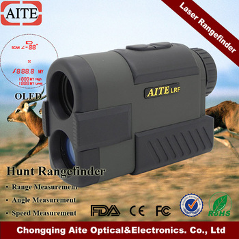High Accurancy Laser Hunt Rangefinder 800m with Low-Light Vision