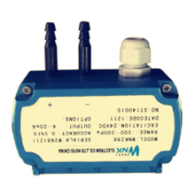 4-20mA Low Differential Pressure Transducer for Gas, HVAC Application
