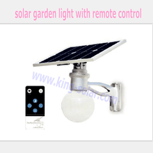 5W High Brightness Aluminum all in one LED Solar Garden Light