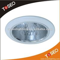 E27 round metal cfl lamp holder