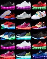 Super deals 2017 rechargeable led zapatos