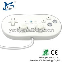 professional manufacture classic remote controller for wii / video game accessories for nintendo wii cheap price