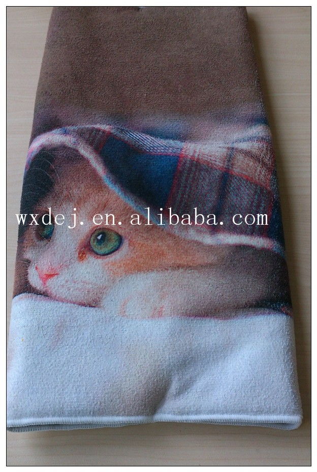 Lovely Cat Cloth Songe, Microfiber Kichen Cleaning Cloth