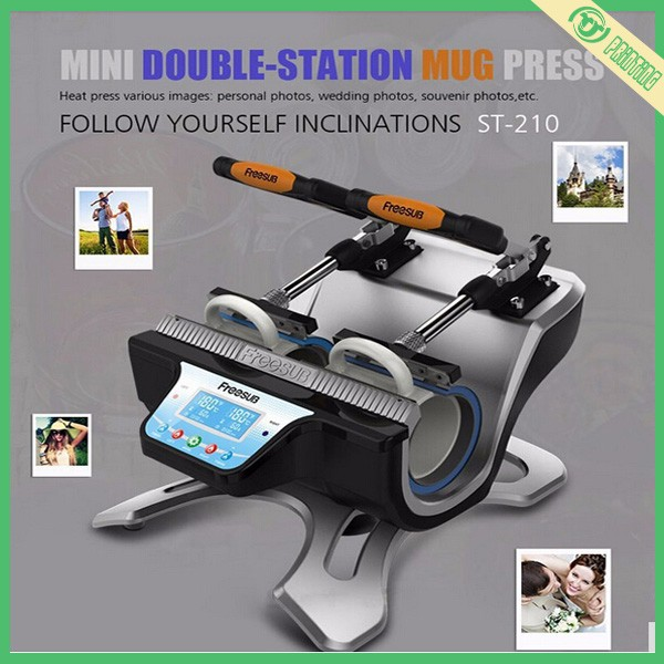 MINI double-station mug heat transfer machine ST-210