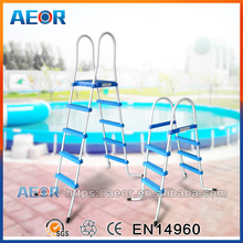 Aeor hot sale 33 inches ladders for swimming pool,aluminum ladder,two step ladder for swimming pool