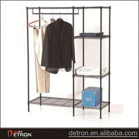NSF metal adjustable closet wire shelving