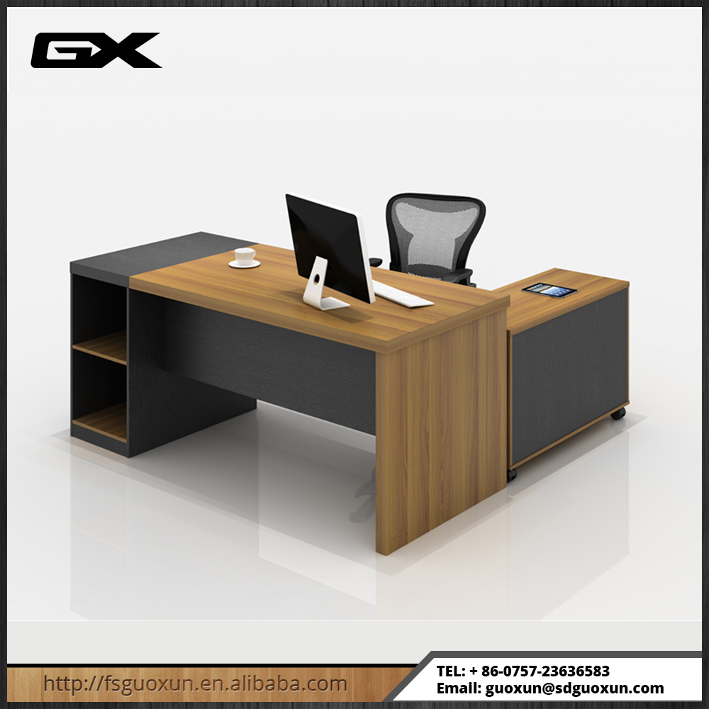 2016 Melamine Luxury Modern Office Executive Table Pictures