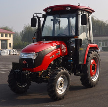 604D China Taishan 60hp engine 4wd Tractor with Cabin