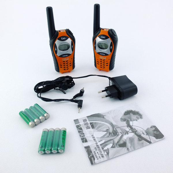 0.5W keypad radio phone handheld wireless long range two way radio walkie talkie 5km