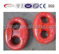 red painted or galvanized kenter shackle stud link anchor chain cable accessories standard size