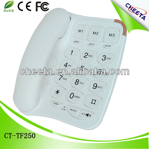 fancy home elderly telephones made in china