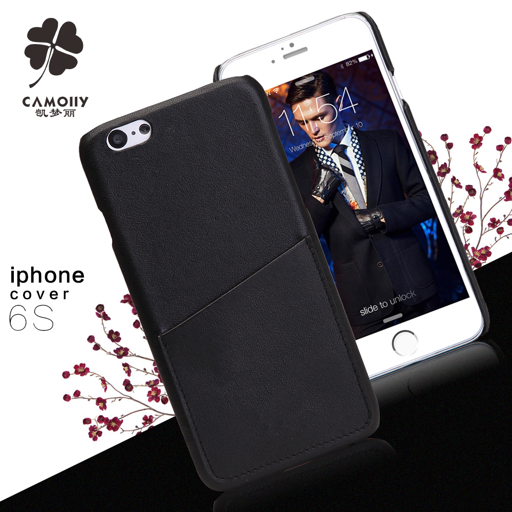 Phone Factory Custom Ultra Thin Leather Case For Iphone6