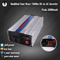 fast charging outdoor European power el wire battery 12v/110v 24v/230v 1000w cfl inverter 1000w