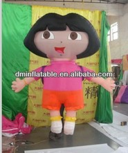 Advertising inflatable little girl cartoon for sale