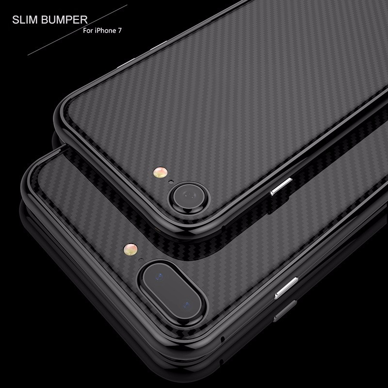 Aluminum alloy case OEM metal frame bumper Gimnic for IPhone 7,scratch-resistant built-in sponge