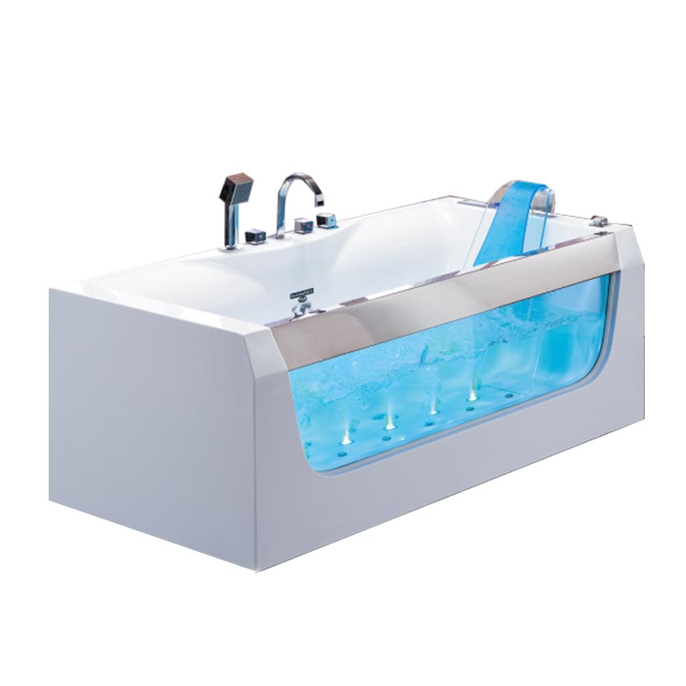 Hs-eb376 Low Price White Whirlpool Bathtub Sizes In Feet - Buy White ...