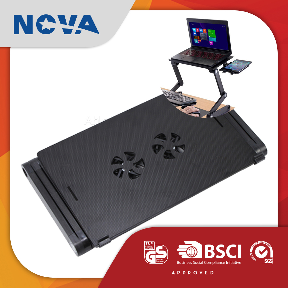 Lowest price adjustable cooling fan oem floor laptop stand