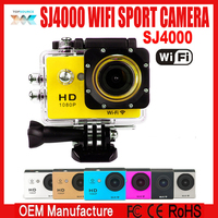 170 degree wide angle lens 1.5 inch or 2 inch full HD H.264 1080P SJ4000 wifi action camera waterproof sport DV