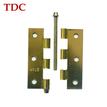Affordable cost hardware door hinge locking device