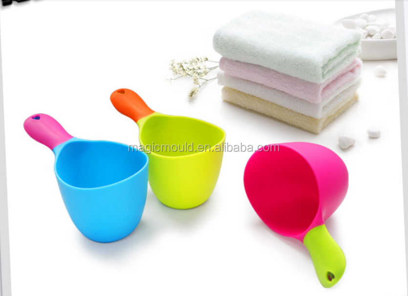 water ladle mould for baby bathroom or kitchen/ children bath water bailer mould CHINA TAIZHOU HUANGYAN