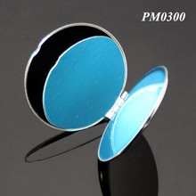 201 Stainless Steel Desktop Mirror Silver Metal Pocket Hand Mirror Wholesale Good Quality Round Metal Silver Hand Mirror
