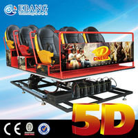 Amazing 4d cinema,5d cinema,5d theater equipment for sale