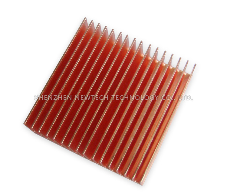 Shenzhen Coonong extrusion/skived copper mill finish ISO heat sink prototype
