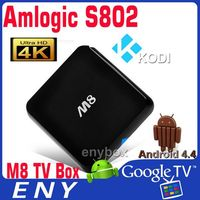 Amlogic S802 Quad Core 3D Bluray Full HD Android TV Box Media Player
