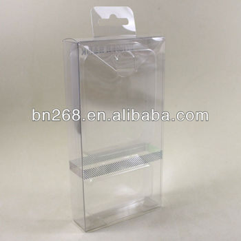 2013 New Clear PVC Packing Box For Power Bank