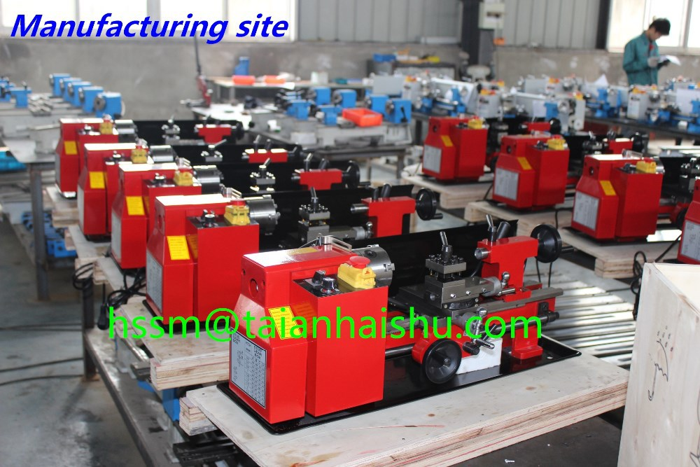 hobby cnc metal machines CQ0618*300 mini bench lathe for sale and Micro cnc lathe price forJewelry and teaching