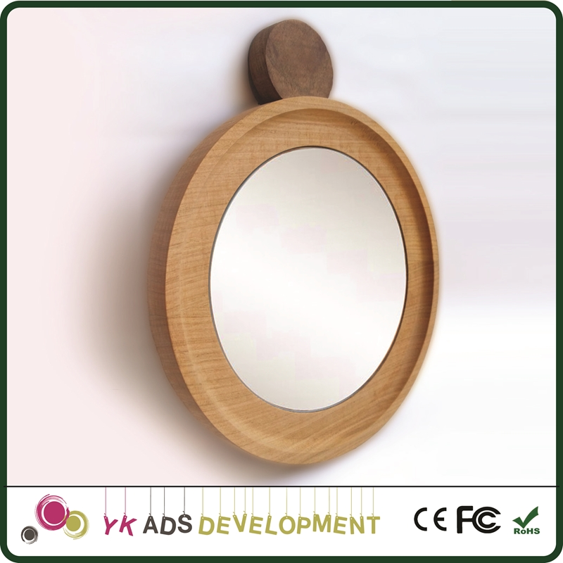 Oval mirror frame is waterproof silver mirror Suitable for gifts, collections or home decorations