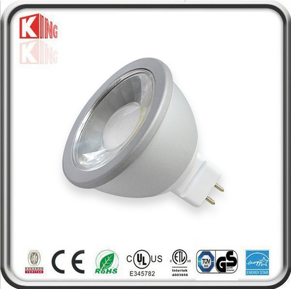 kingliming hot sale e27/ e14/ mr16/gu10 led lamp 7W COB mr16 gu10