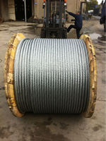 high tensile low price good quality best supplier galvanized and ungalvanized steel wire rope steel cable and wire 6X36SW+FC