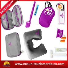 Cheap aviation amenity supplier travel kit for ladies travel kit inflight
