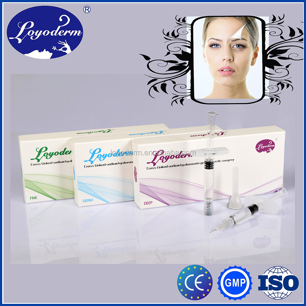 High quality hyaluronic acid sodium injections to buy derma filler derm/deep with lidocaines