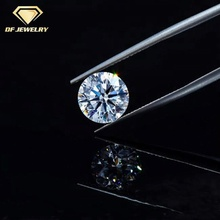 Wuzhou factory price pure white Natural jewelry moissanite diamond industrial cvd diamond