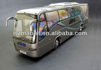Mini resin bus car model