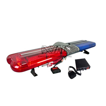 98W flashing LED Emergency warning signal light bar police used led roof warning lightbar 1.2m full size LED light bar 12-24V DC