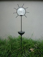 Outdoor lawn solar powered landscape bright stake LED lighting