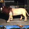 My-dino amusement park life size animal large lion statues for sale