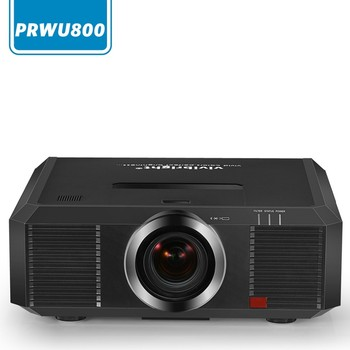 Vivibright prwu800 projector 500 inches projection image excellent user experience outdoor building 3d mapping projector