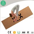 Most Eco Friendly Durable Cork Yoga Mat For Sweaty Hand Hot Yoga Practice