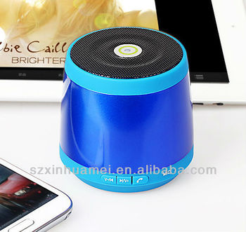 2013 promotion mini wireless bluetooth speaker
