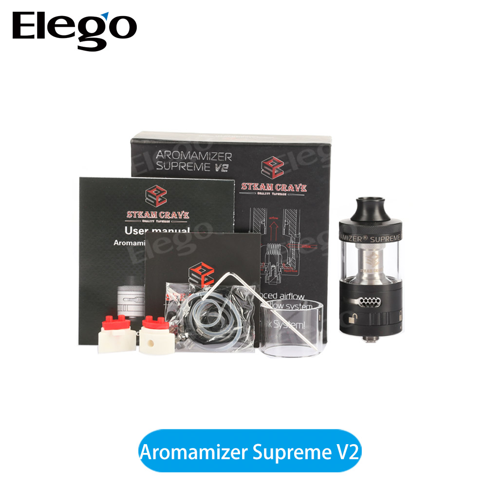 Original Steam Crave Aromamizer Supreme V2 RDTA 5ml Tank Wholesale