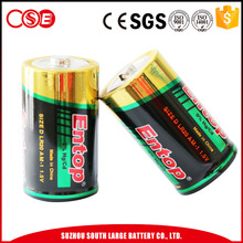 Eco-Frindly Portable D Alkaline Batteries Lr20 1.5V