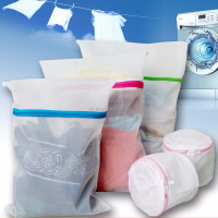Mesh laundry bags polyester washing bag
