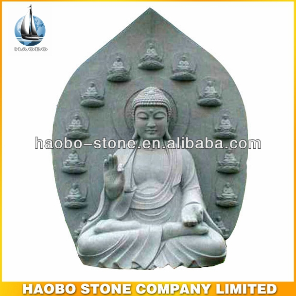 Gorgeous Stone Buddha Indonesian Sculpture