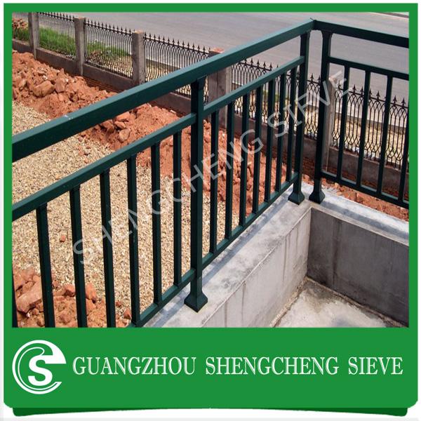 Metal balcony rail for hotel glass balustrade railing for Design of balcony railings in india